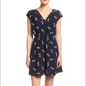 Madewell Floral Trapeze Dress